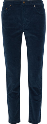 Acne Studios Stretch-cotton Corduroy Slim-leg Pants