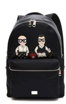 Dolce & Gabbana Backpack With Designers Patch