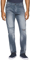 Calvin Klein Jeans Tapered Leg Faded Jeans
