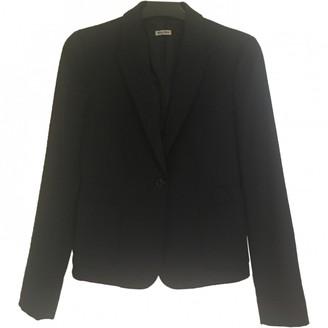 Miu Miu Navy Wool Jacket for Women
