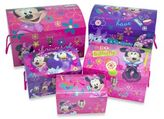 Disney Minnie Mouse Mod Nested Dome Trunks (Set of 5)