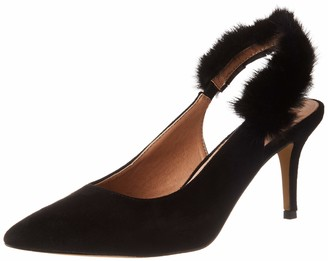 Eferri Women's Tom T-Bar Pumps Negro 7 UK