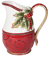 Fitz & Floyd Damask Holiday Pitcher