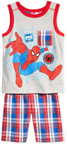 Nannette 2-Pc. Spider-Man Graphic-Print Shirt & Shorts, Toddler & Little Boys (2T-7)
