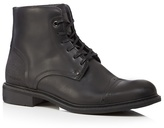 G-star Raw Black 'warth' Buffed Leather Boots