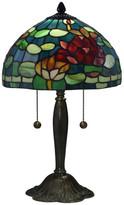 Dale Tiffany Jocelyn Rose Tiffany Table Lamp