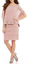 Le Bos 2-Piece Tiered Popover Dress