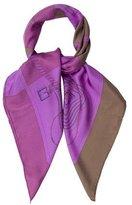 Hermes Clic Clac Dipy Dye Silk Scarf