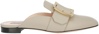 Bally Buckle Slip-On Flat Mules