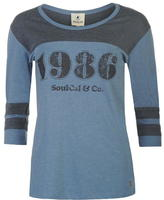 Soulcal Deluxe 86 Baseball T Shirt