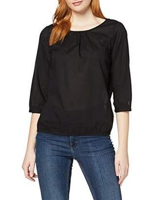 Vero Moda Women's VMPETRA 3/4 Sleeve TOP Blouse, Black, (Size: S)