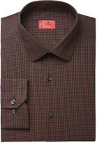 Alfani RED Men's Slim-Fit Square-Dot Print Dress Shirt, Created for Macy's