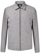 Mens Montague Burton Grey Grindle Harrington Jacket*