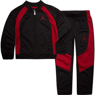 Nike Boys' Little Kids' Air Jordan Retro 1 Tricot Track Jacket and Pants Set