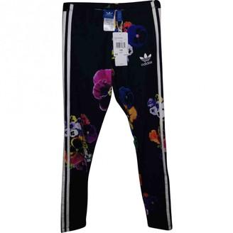 adidas Multicolour Cotton Trousers