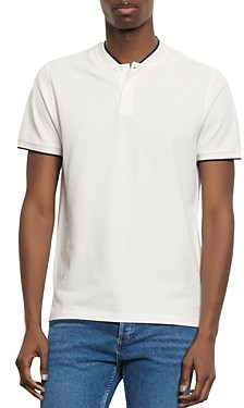 Sandro Olympic Pique Slim Fit Polo Shirt