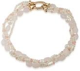"""Lauren Ralph Lauren Beaded Collar Necklace, 16"""""""