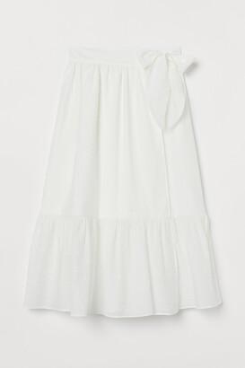 H&M Bow-detail skirt