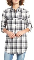 BP Women's Plaid Flannel Shirt