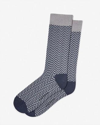 Express Zig-Zag Dress Socks