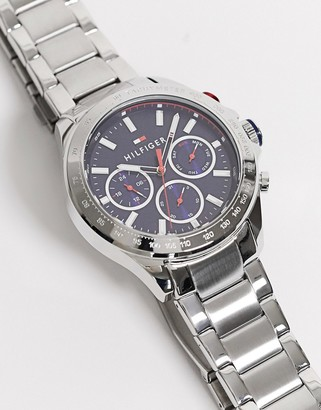 Tommy Hilfiger hudson watch with blue dial