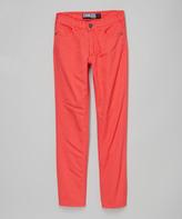 Micros Poppy Red Straight-Leg Jeans - Boys