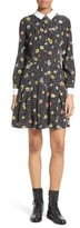 The Kooples Women's Print Silk Dress