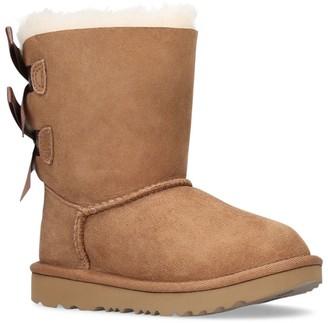 UGG Suede Bailey Bow II Boots
