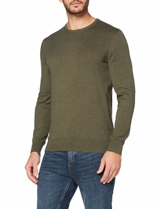 Meraki Men's Lightweight Cotton Crew Neck Jumper