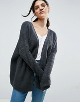 Asos Chunky Cardigan With D Ring Detail