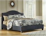 Signature Design by Ashley Kasidon Boxed Tufted California King Upholstered Bed