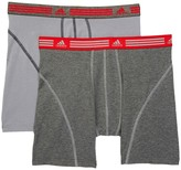 adidas Athletic Stretch Boxer Briefs - Pack of 2