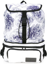 adidas by Stella McCartney floral print backpack - women - Polyester - One Size