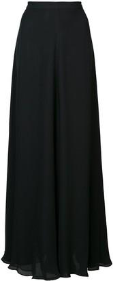 Voz long A-line skirt