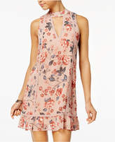 American Rag Juniors' Floral-Print A-Line Dress, Created for Macy's