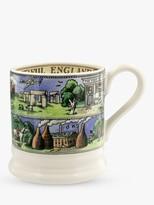 Emma Bridgewater Beautiful England Half Pint Mug, 280ml, Green/Multi
