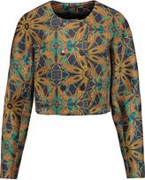 M Missoni Printed neoprene jacket