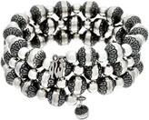 American West Classics Beaded Coil Wrap Bracelet
