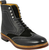 Stacy Adams Madison II Mens Leather Wingtip Boots
