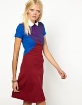 Ostwald Helgason Sweatshirt Dress with Collar
