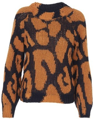 Stella McCartney Big Leopard sweater