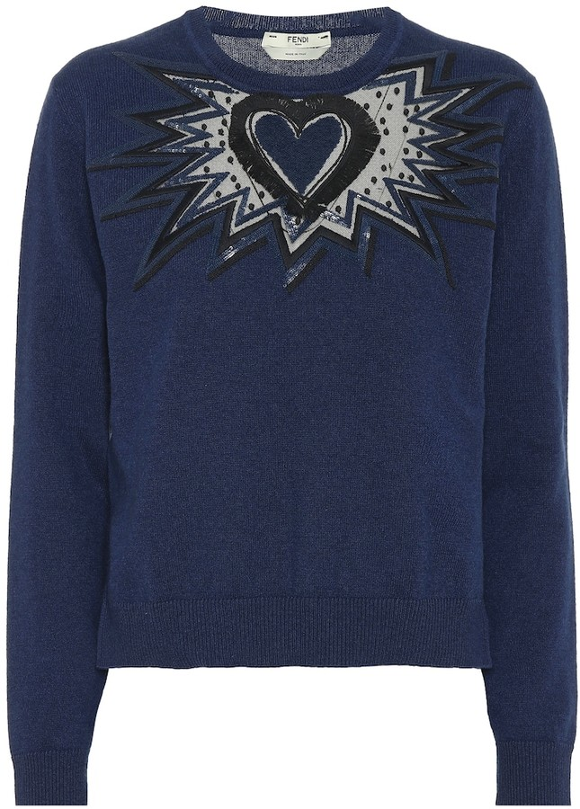 02f776a7 Embroidered cashmere sweater