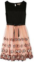 Speechless Butterfly Party Dress, Little Girls (2-6X)