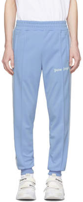 Palm Angels Blue Classic Track Pants