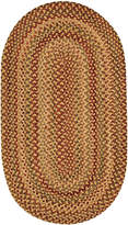 Capel Area Rug, Homecoming Oval Braid 0048-100 Wheatfield 8' x 11'