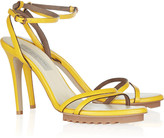 Hebe faux leather sandals