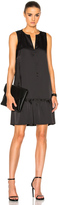 ATM Anthony Thomas Melillo Sleeveless Ruffled Dress