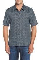 Nat Nast Men's Blizzard Classic Fit Silk Blend Sport Shirt