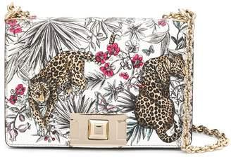 Furla Mimi tropical-print shoulder bag