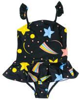 Mini Rodini Space Skirt Swimsuit